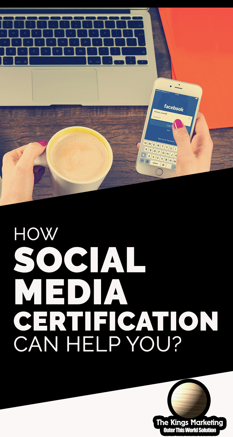 How Social Media Certification Can Help You?